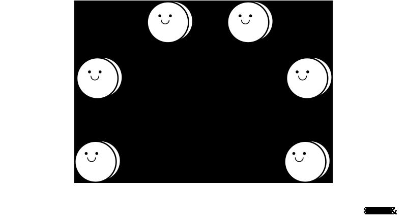 求心力 イメージ図
