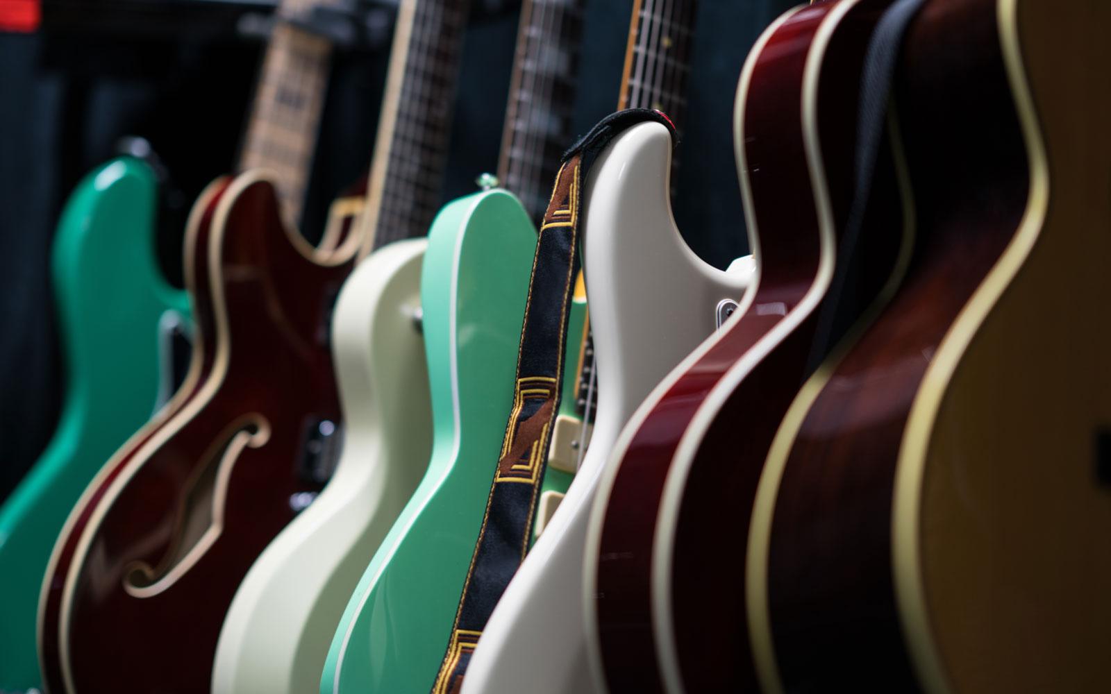 ギター売り場