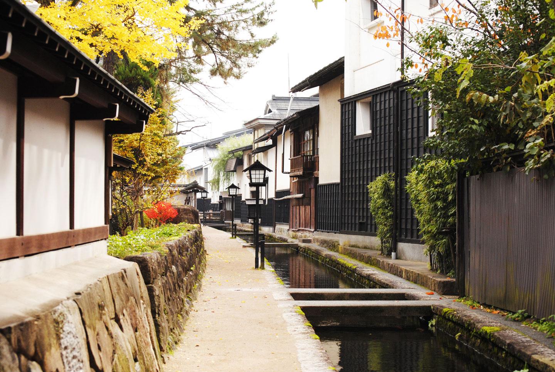 飛騨古川の風景