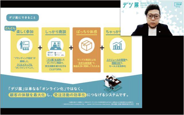 「デジ展」オンライン展示会で、商機倍増!【第二部】 セミナーイメージ2
